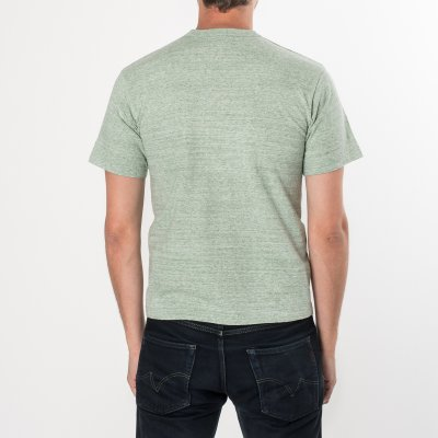 6oz Loopwheel Plain T-Shirts Green
