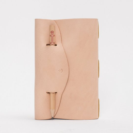 SFK & Life Leather Field Notes Holder & Pencil