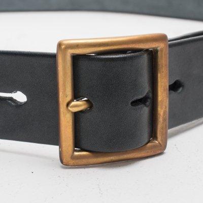 SFK Black Leather Belt