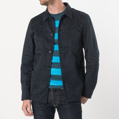 Navy Chino Cloth Chore Jacket
