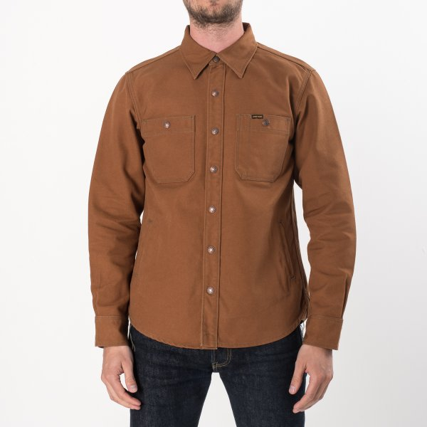 "Brown Duck Work Shirt Style CPO - ""The UnTucked"""