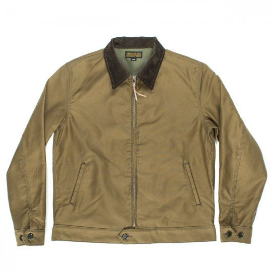 Khaki Whipcord Work Jacket