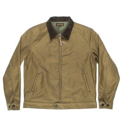 Khaki Whipcord Work Jacket