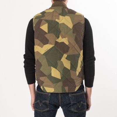 Camouflage Quilted Vest