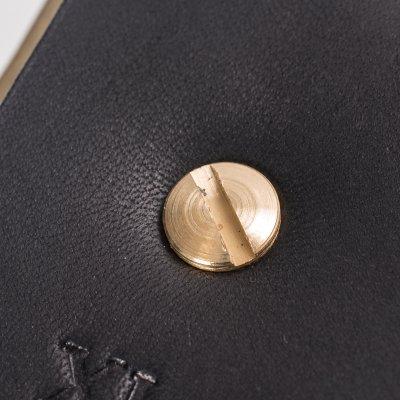 "Heavy Duty ""Tochigi"" Leather Belt with Brass Garrison Buckle - Black, Brown or Natural"