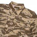 Khaki Tiger Stripe Camouflage CPO Shirt