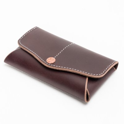 SFK & Life Leather Rolling Tobacco Wallet by Faith