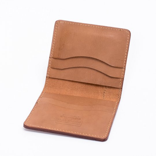 OGL Condor Slim Line Wallet with Outer Bill Pocket in Taupe