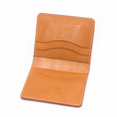 OGL Condor Slim Line Wallet with Outer Bill Pocket in Tan
