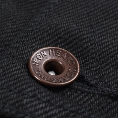 "Superblack 21oz Selvedge Denim 1946 Type Rider's Jacket - ""The Riffblaster General"""