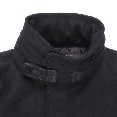 Black Selvedge Melton Wool M65 Field Jacket