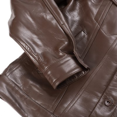 Brown Horsehide Modified Type III Jacket