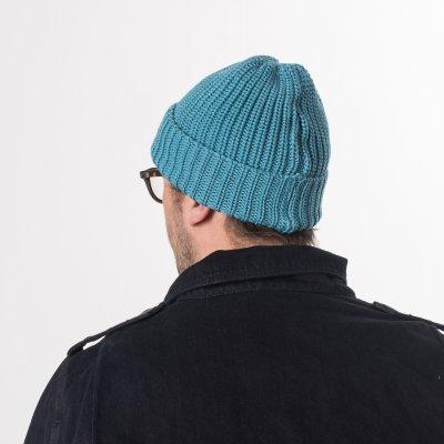Sax 100% Merino Wool Ribbed Beanie