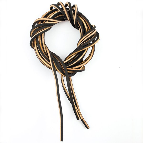 Wesco Brown Leather Laces