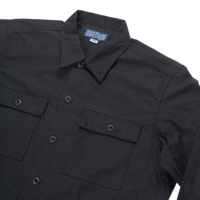 Black Military C.P.O Shirt