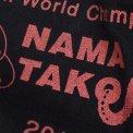 "Black ""Nama Tako"" Printed T-Shirt BALANCE"