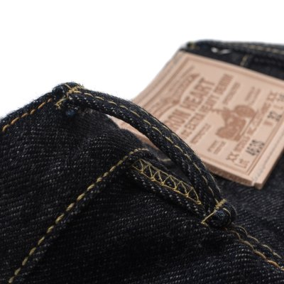 "Indigo 21oz Selvedge Denim Sneaker Cut - ""The Boss Cut"""