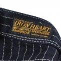 Indigo 21oz Wabash Single Knee Slim Cut Logger Jeans