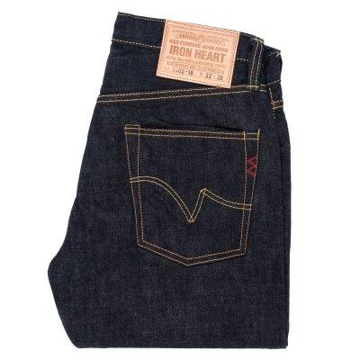 Indigo 16oz Vintage Selvedge Denim Slim Straight Cut