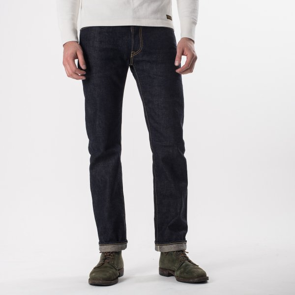 Indigo 16oz Vintage Selvedge Denim Slim Straight Cut