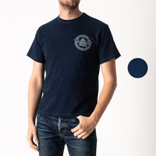 Indigo Overdyed 6.5oz Loopwheel T-Shirts