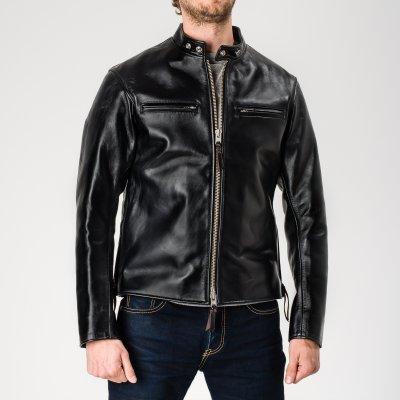 Black Japanese Horsehide Rider's Jacket