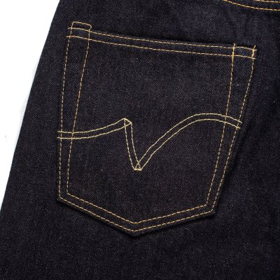 Indigo 14.7oz Eco Selvedge Denim Slim Straight Cut