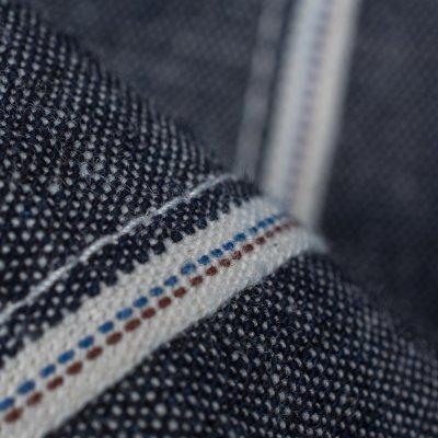 8oz Deep Indigo Chambray Double Elbow Work Shirt
