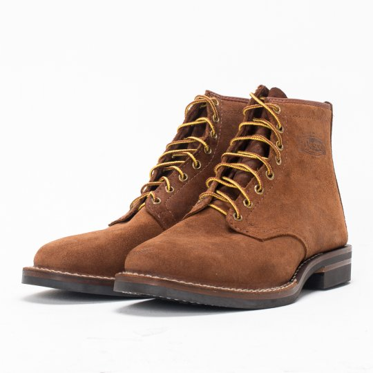"""The Bootery/Wesco® - Brown Rough-Out """"Foot Patrol"""""""
