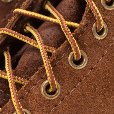 """Iron Heart Int'l x Wesco® - 7"""" Rough-Out Boot """"Foot Patrol"""" - Brown"""