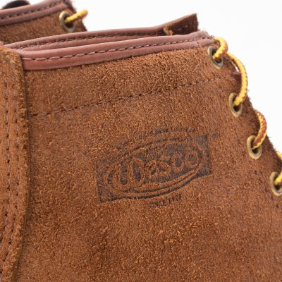"Iron Heart Int'l x Wesco® - 7"" Rough-Out Boot ""Foot Patrol"" - Brown"