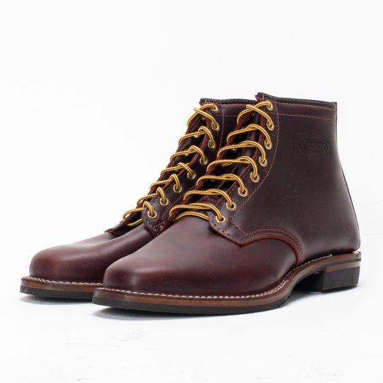 """The Bootery/Wesco® - Burgundy Smooth-Out """"Foot Patrol"""""""
