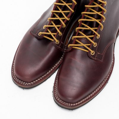 "The Bootery/Wesco® - Burgundy Smooth-Out ""Foot Patrol"""
