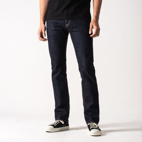 Natural Indigo 17oz Selvedge Denim Super Slim - MOFREF Collaboration