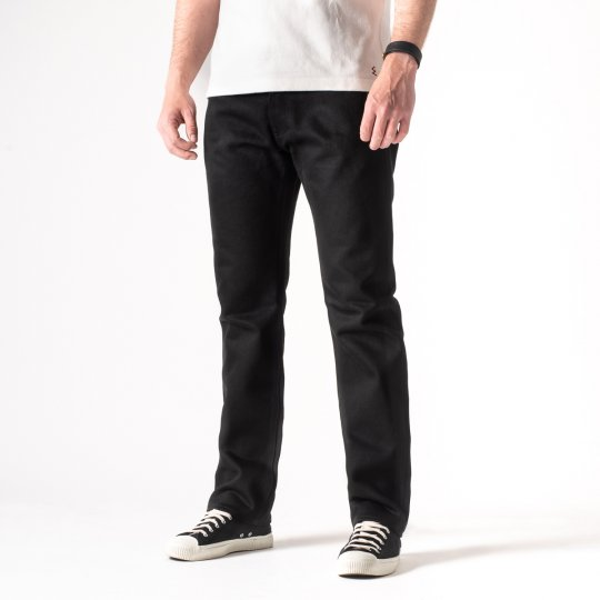Superblack 21oz Selvedge Denim Medium/High Rise Tapered Cut