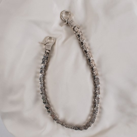 "Silver ""Motorcycle Chain"" Wallet Chain"