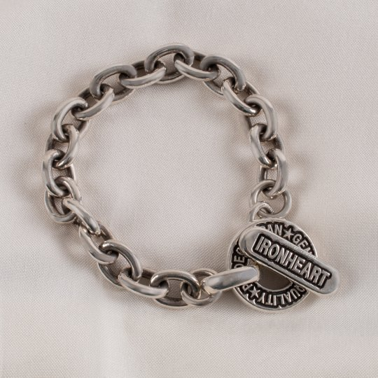 Silver Chain T-Bar Bracelet (Lady's and Gent's)