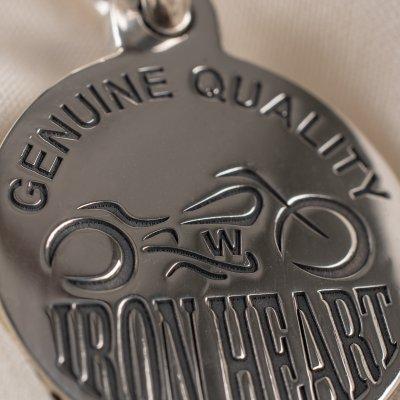 Iron Heart x GOOD ART HLYWD Silver Nickel Pendant