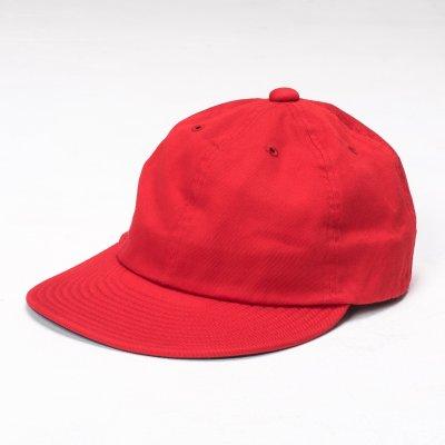 "Papa Nui Pusan Red Cotton Twill ""Toko-Ri"" Cap"