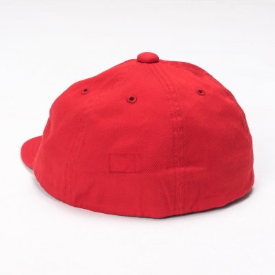 "Papa Nui Pusan Red Cotton Twill ""Toko-Ri"" Cap"