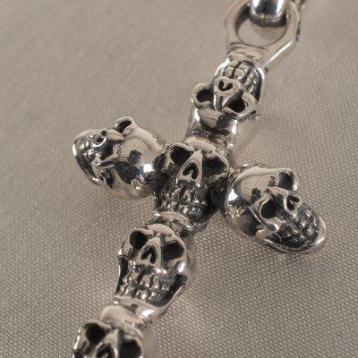 GOOD ART HLYWD Jack Skull Cross Pendant