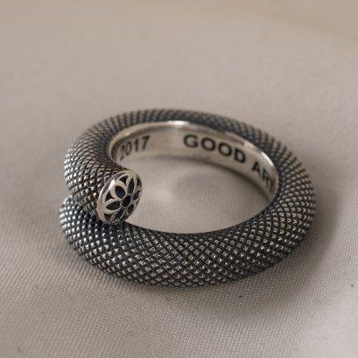 GOOD ART HLYWD Nixon Knurled Ring