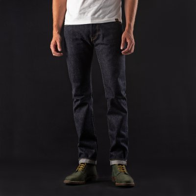 Indigo 18oz Raw Selvedge Denim Super Slim