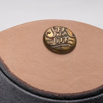 SFK & Life Circular Leather Coin Case by Faith