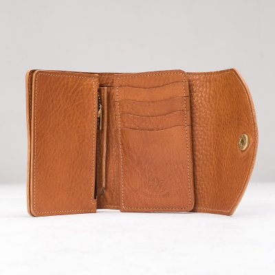 OGL WX2 Tri Fold Short Wallet Tan