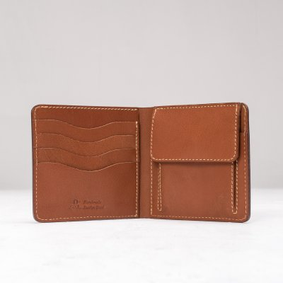 OGL Kingsman Classic Bi Fold Wallet (with coin pocket) Brown
