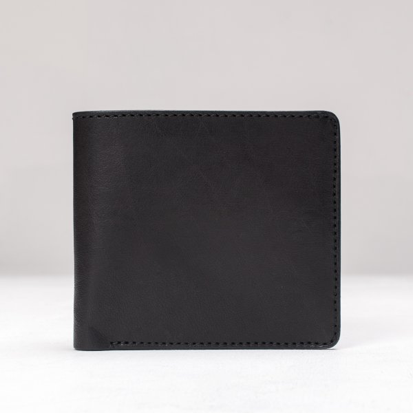 OGL Kingsman Classic Bi Fold Wallet (with coin pocket) Black