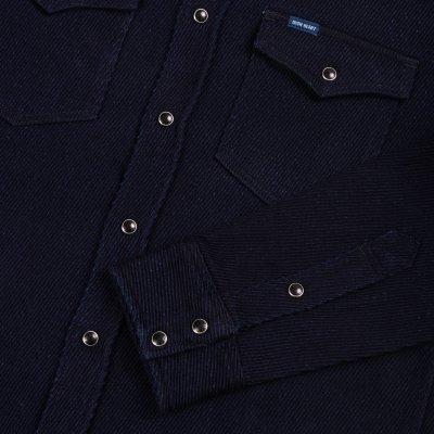 Indigo Kersey Western Shirt