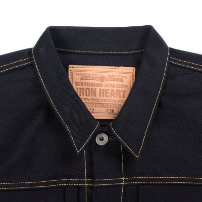Indigo/Indigo 18oz Selvedge Denim Type ll Jacket