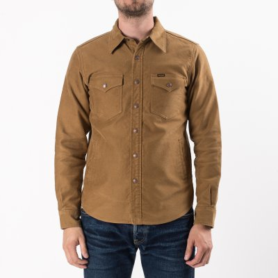 Brown Heavy Moleskin CPO Shirt/Jacket